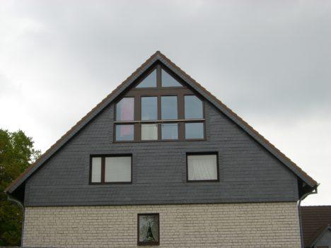 fensterfront im dachgeschoss