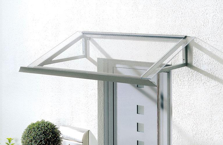 Düpmann Vordach aus Glas, Bildrechte: Düpmann